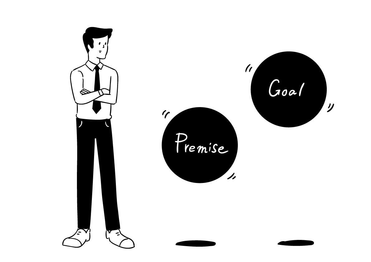 企画における「目標」と、「ユーザー体験」